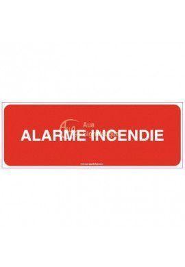 Panneau alarme incendie-B