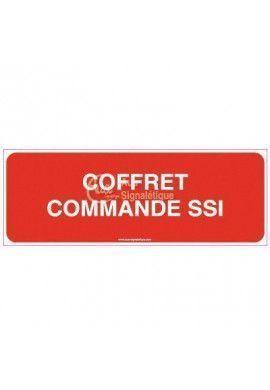 Panneau Coffret commande SSI-B