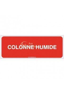 Panneau Colonne humide-B