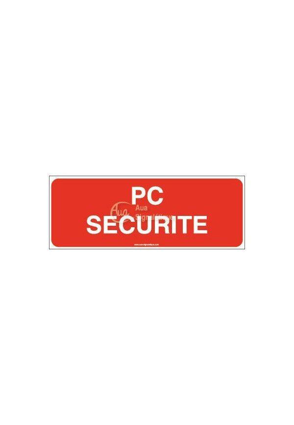 Panneau PC sécurité