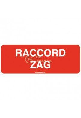 Panneau Raccord zag