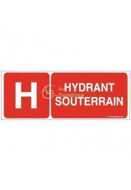 Panneau Hydrant souterrain