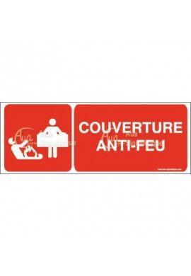 Panneau couverture anti-feu - B