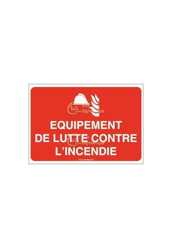 Panneau Équipement de lutte contre l'incendie