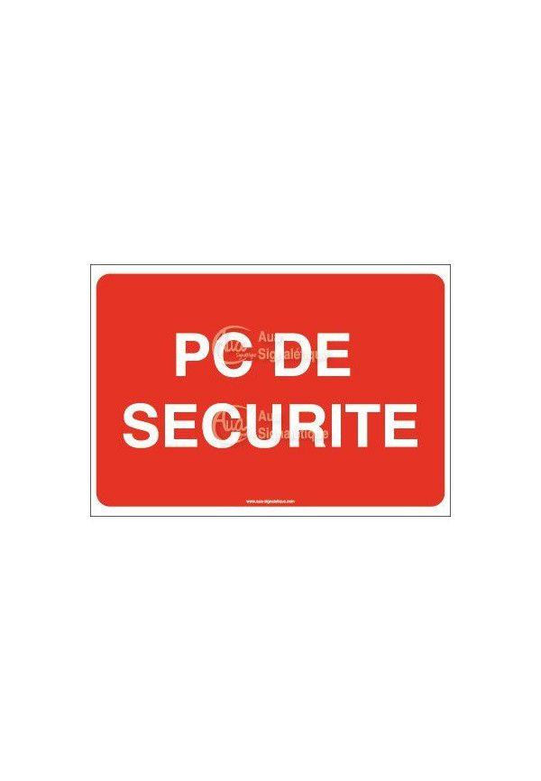 Panneau PC de sécurité