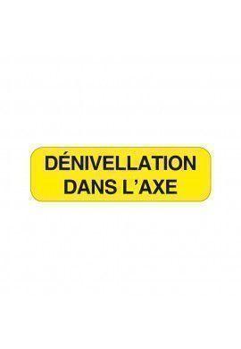 Panonceau Dénivellation KM9-13