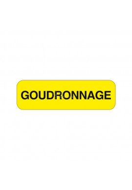 Panonceau Goudronnage KM9-18