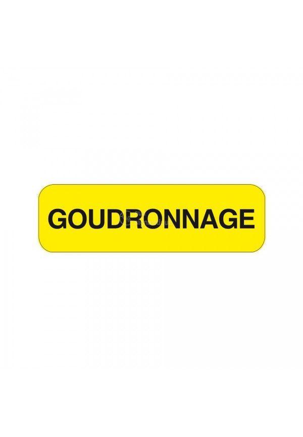 Panonceau Goudronnage KM9-18