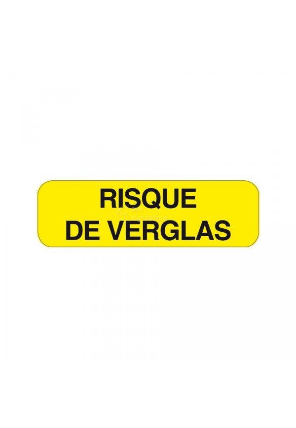Panonceau Risque de Verglas KM9-29