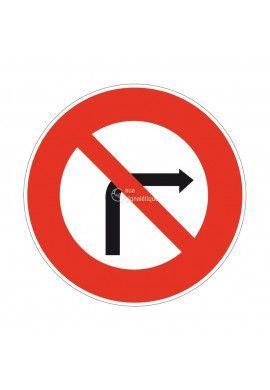 Interdiction de Tourner à Droite Temporaire - BK2b