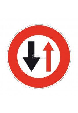 Céder le Passage à la Circulation... Temporaire - BK15