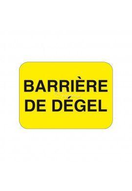 Barrière de Dégel - KC1-BD