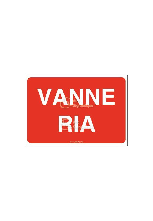 Panneau Vanne RIA