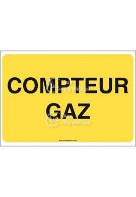 Panneau Compteur gaz