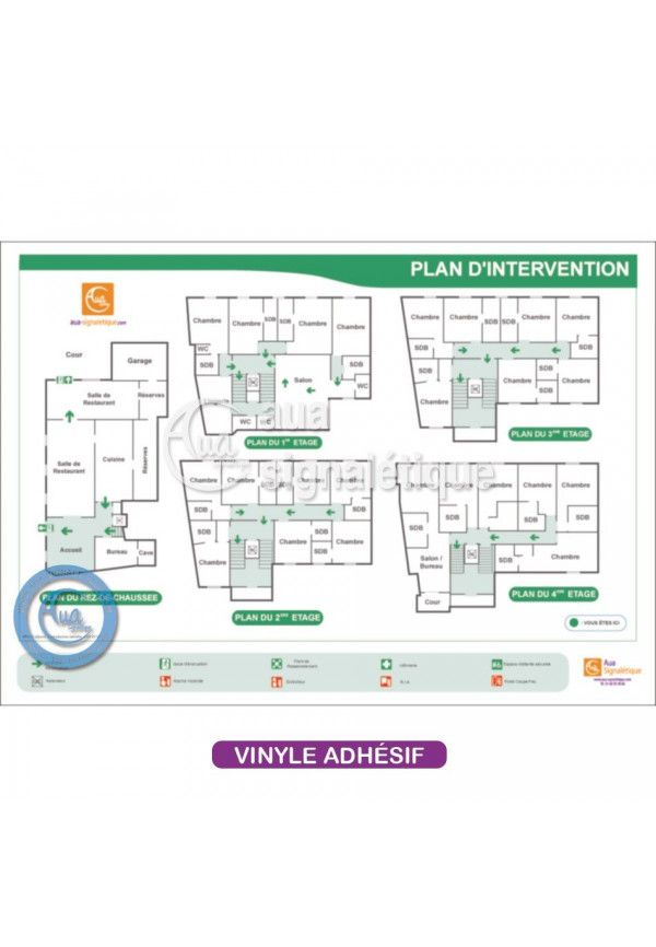 Plan d'intervention plastification Adhésive