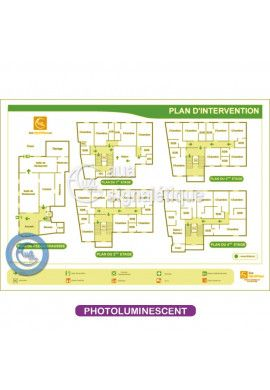 Plan d'intervention PVC Blanc 2mm - PH