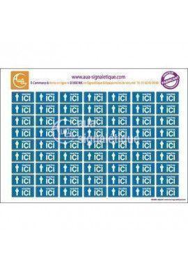 Symboles graphiques - Ici