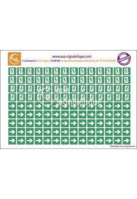 Symboles graphiques - Évacuation