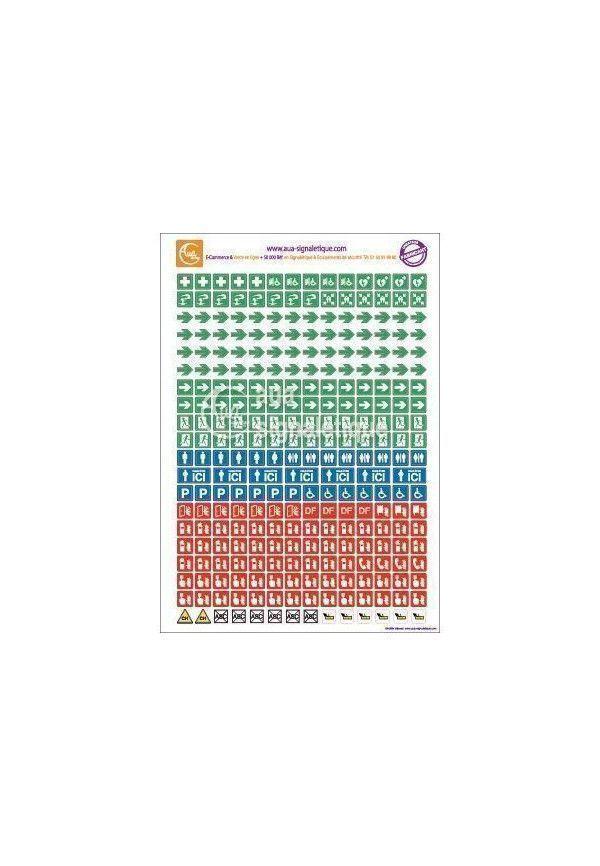 Symboles graphiques - Plans - A4