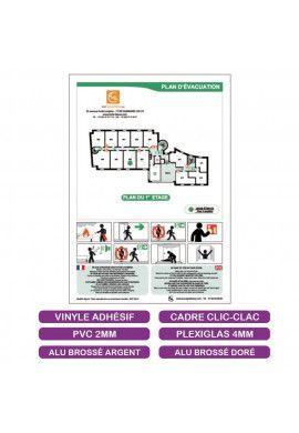 Plan d'évacuation + Consignes BD - A4