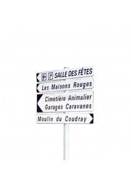 Panneau de signalisation directionnelle de position D29