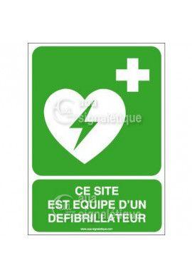 Panneau Défibrillateur