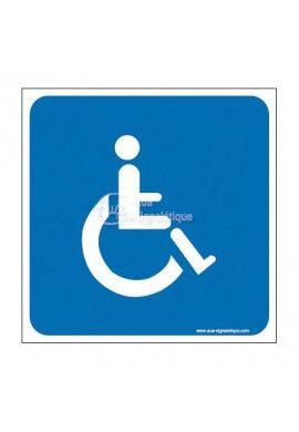 Panneau handicapé - CA