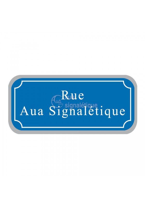 Plaque de rue - Type routier 350x150