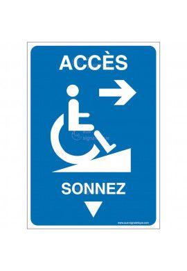 Panneau Accès droite- Sonnez-AI