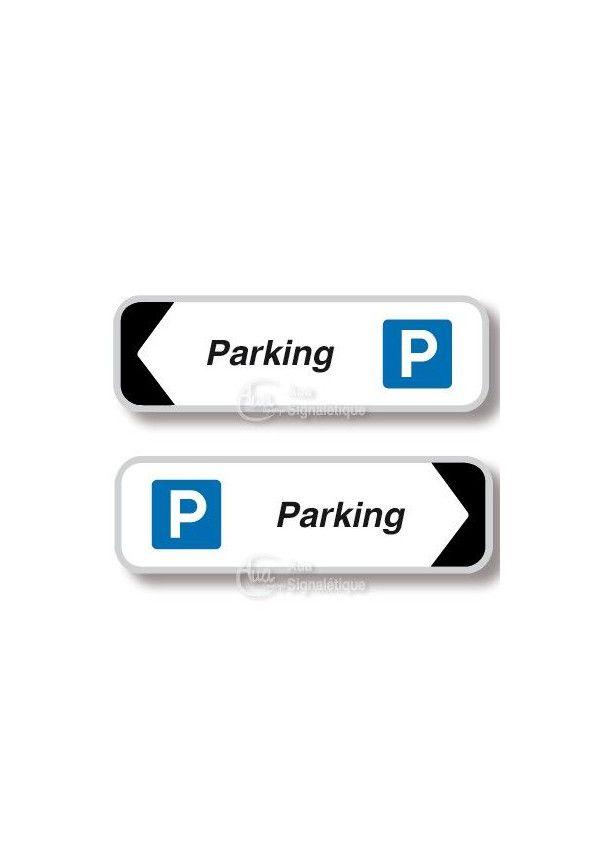 Panneau directionnel Rectangulaire Parking