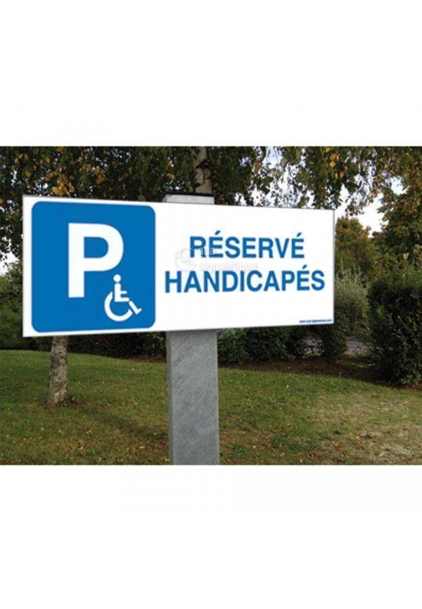 Kit Panneau Parking Sur Mesure - Aluminium 3mm - 480x180 mm