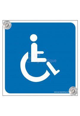 Kit panneau ventouse - Handicapé