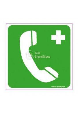 Panneau Téléphone de secours