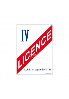 Affiche Licence 4