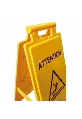 Balise Chevalet de signalisation chaussures de sécurité obligatoire  - V2
