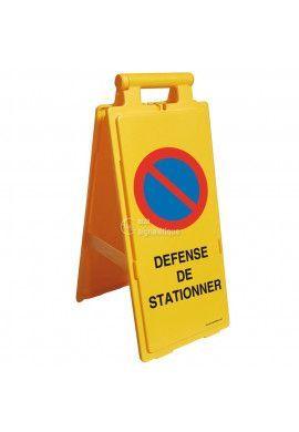 Balise Chevalet de signalisation défense de stationner - V2