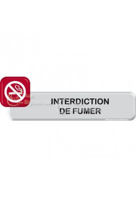 Autocollant VINYLO -  Interdiction de fumer
