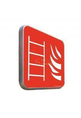 Echelle incendie Carré - Panneau Type Routier Avec Rebord
