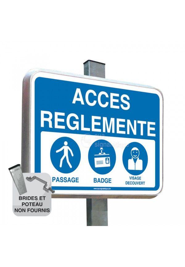 Routier - Accès réglementé avec Picto