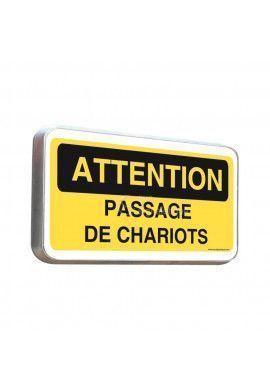 Routier - Panneau passage de chariots