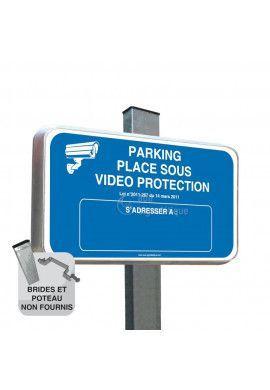 Routier - Parking Placé Sous Vidéo Protection