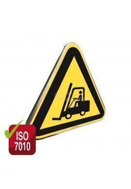 Chariots élévateurs ISO W014 - Panneau Type Routier Avec Rebord