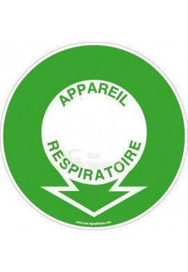 Panneau Localisation Appareil Respiratoire