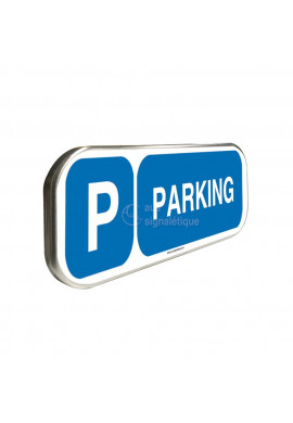 Parking - Panneau aluminium type routier