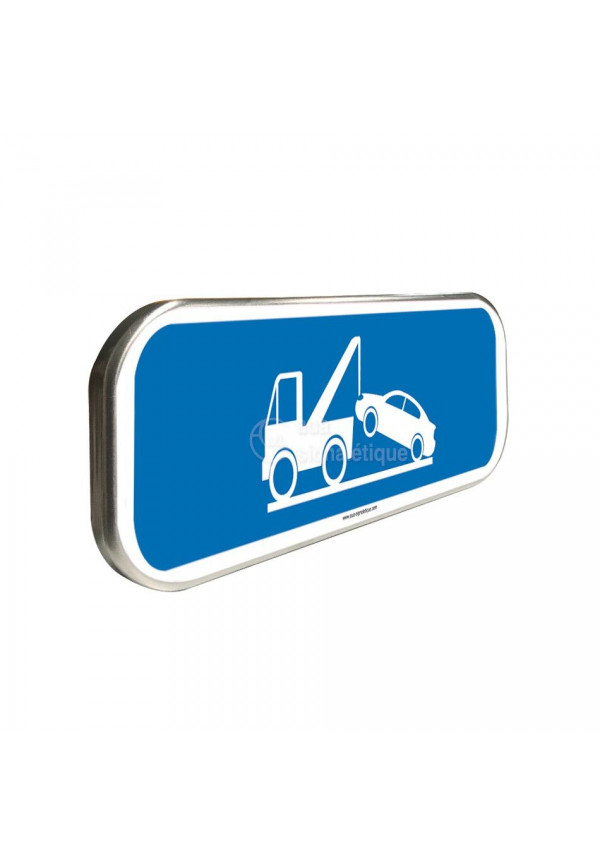 Mise en Fourrière - Panneau aluminium type routier