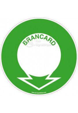 Panneau Localisation Brancard