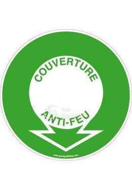 Panneau Localisation Couverture Anti-Feu