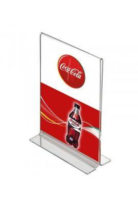 Porte affiche T portrait A4 TRANSPARENT