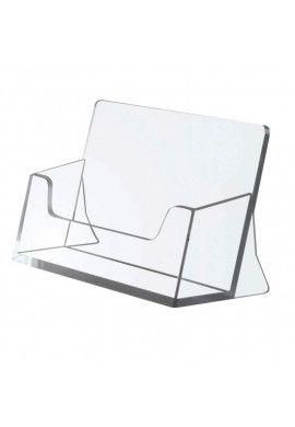 Porte carte visite plexiglass 55x95x39 mm