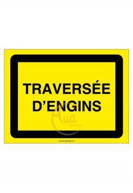 PANNEAU KC1 TRAVERSEE D'ENGINS AKILUX 5mm